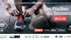 Trail calendar France   Trailrunning race in November 2020 > Foulées du Souvenir (ORBEY)