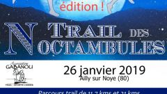 Trail calendar France Hauts-de-France Somme Trailrunning race in January 2020 > Trail des Noctambules (Ailly-sur-Noye)
