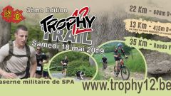 Trail calendar Belgium   Trailrunning race in May 2020 > Trail Trophy12 (SPA)