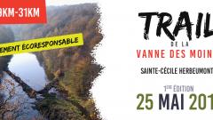 Calendrier trail Belgique - Trail en Mai 2019 : Trail de la Vanne des Moines à 6820 Sainte-Cécile
