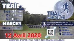 Calendrier trail France Hauts-de-France Nord Trail en Avril 2021 > Trail du clair de lune (Maubeuge)