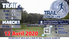 Trail kalender Frankrijk Hauts-de-France Nord Trailrun in April 2020 > Trail du clair de lune (Maubeuge)