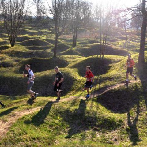 Trail des tranchées sur le Champ de bataille de Verdun  2020