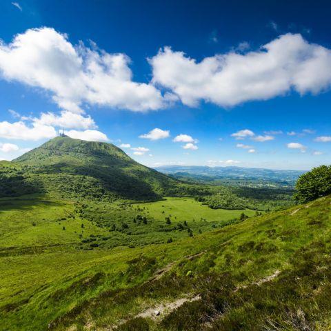 Trail des Volcans